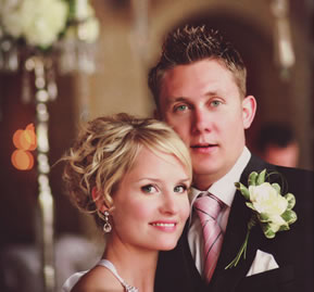 the beautiful bride &amp; groom - Jani &amp; HP