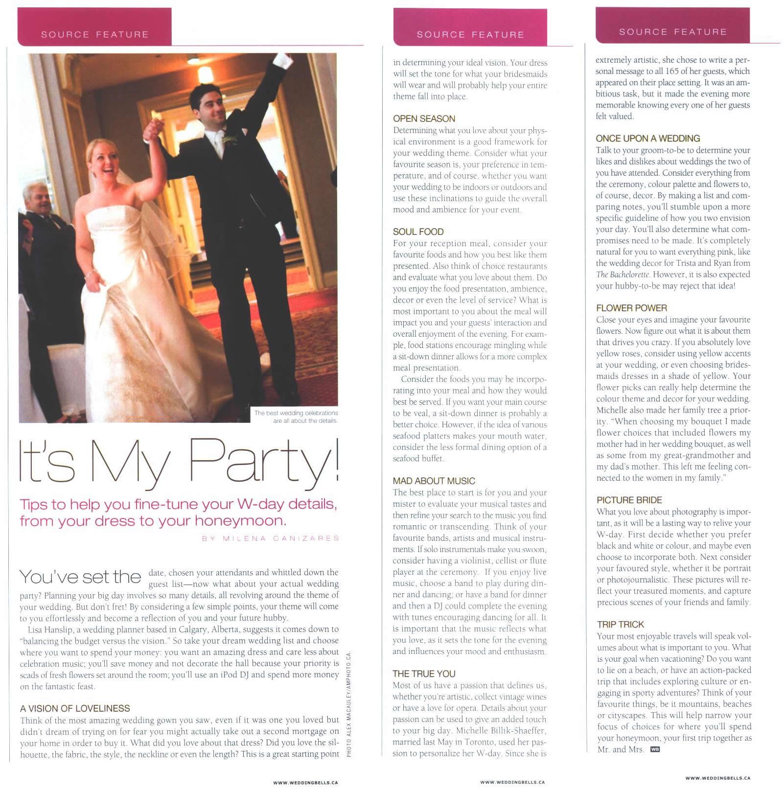 the wedding planner - planning stylish events in calgary, banff, lake louise, kananaskis, rocky ...